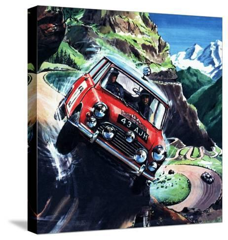 Monte Carlo Rally--Stretched Canvas Print