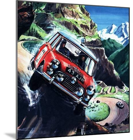 Monte Carlo Rally--Mounted Giclee Print
