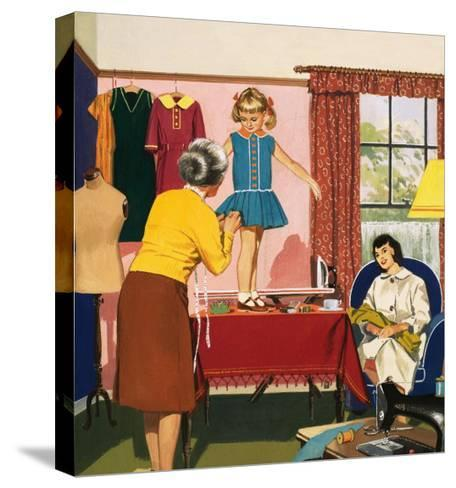Tailor and Dress Maker--Stretched Canvas Print