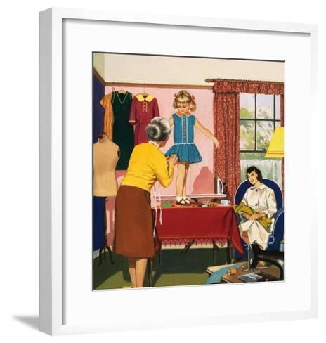 Tailor and Dress Maker--Framed Art Print