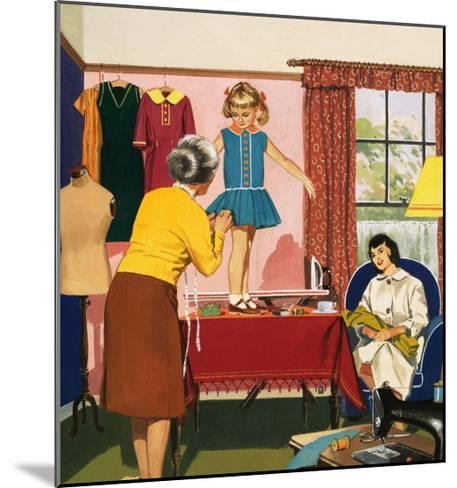 Tailor and Dress Maker--Mounted Giclee Print