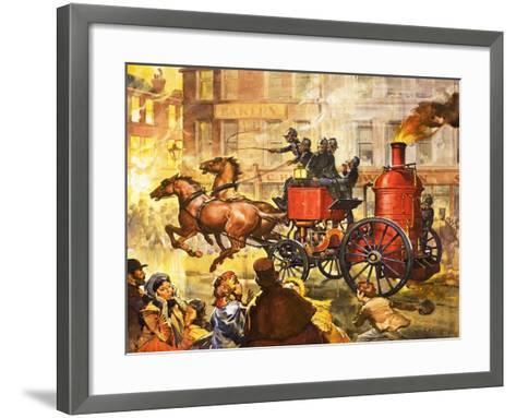 Famous Partnerships: Fire King-James Edwin Mcconnell-Framed Art Print