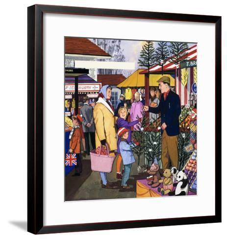 Market Trader--Framed Art Print