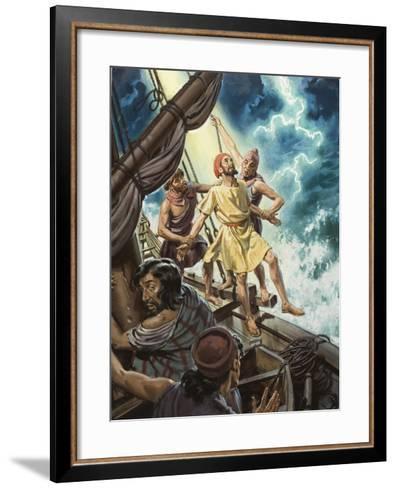 Jonah--Framed Art Print