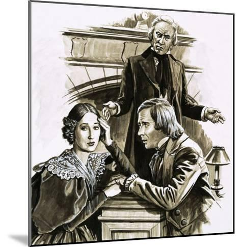 Robert Schumann's Proposal to Pianist Clara Wieck Was a Turning Point in His Life-Roger Payne-Mounted Giclee Print