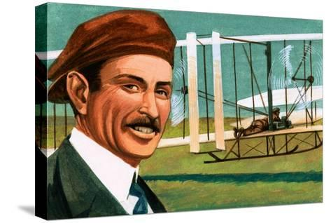 Orville Wright--Stretched Canvas Print