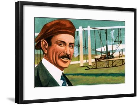 Orville Wright--Framed Art Print