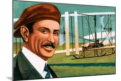 Orville Wright--Mounted Giclee Print