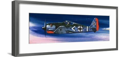 Into the Blue: German Aircraft of World War II-Wilf Hardy-Framed Art Print