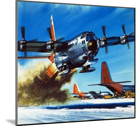 Into the Blue: South Pole Air Base-Wilf Hardy-Mounted Giclee Print
