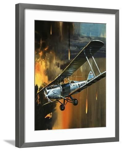 Famous Aircraft and Their Pilots: de Havilland Gipsy Moth - Jean Batten-Wilf Hardy-Framed Art Print