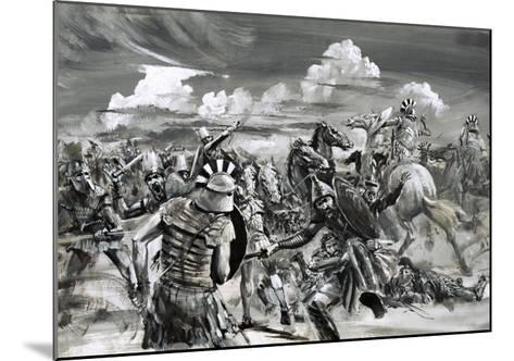 Victory at Gaugamela For Alexander the Great-Graham Coton-Mounted Giclee Print