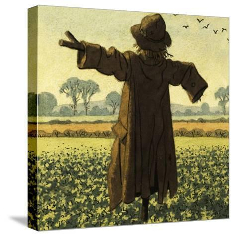 Scarecrow-Ronald Lampitt-Stretched Canvas Print