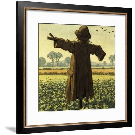 Scarecrow-Ronald Lampitt-Framed Art Print