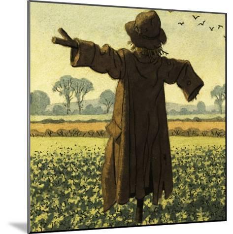Scarecrow-Ronald Lampitt-Mounted Giclee Print