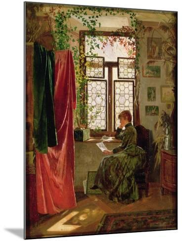 Reading the Letter-Peter Kraemer-Mounted Giclee Print