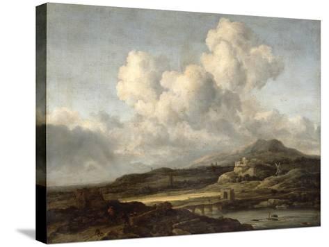 Sunny Landscape-Jacob Isaaksz^ Or Isaacksz^ Van Ruisdael-Stretched Canvas Print