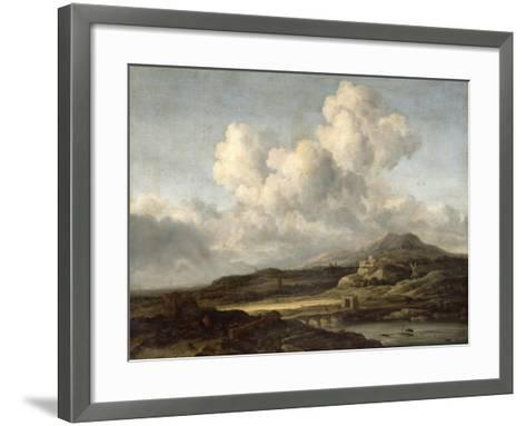 Sunny Landscape-Jacob Isaaksz^ Or Isaacksz^ Van Ruisdael-Framed Art Print