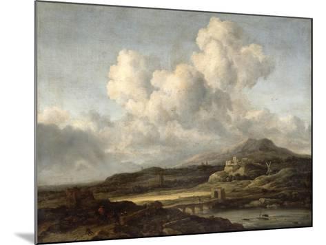 Sunny Landscape-Jacob Isaaksz^ Or Isaacksz^ Van Ruisdael-Mounted Giclee Print