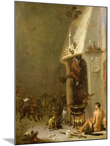 Witch's Tavern-Cornelis Saftleven-Mounted Giclee Print