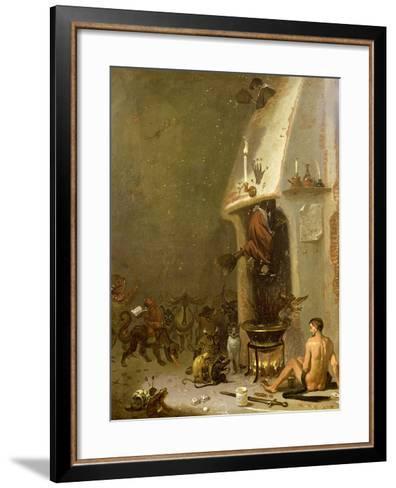 Witch's Tavern-Cornelis Saftleven-Framed Art Print
