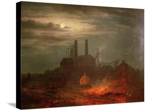 Old Hetton Colliery, Newcastle--Stretched Canvas Print