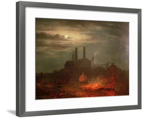 Old Hetton Colliery, Newcastle--Framed Art Print