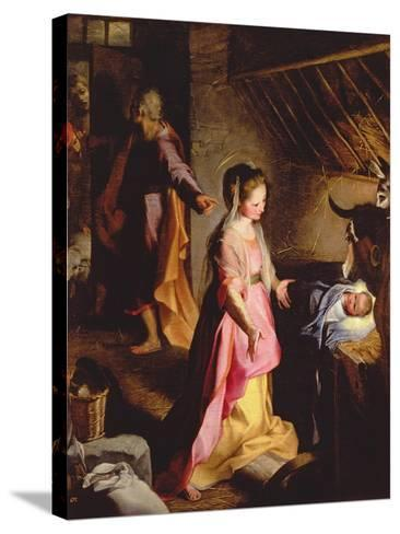 The Adoration of the Child, 1597-Federico Barocci-Stretched Canvas Print