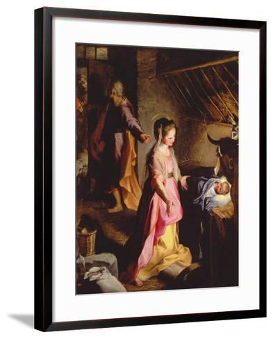 The Adoration of the Child, 1597-Federico Barocci-Framed Art Print