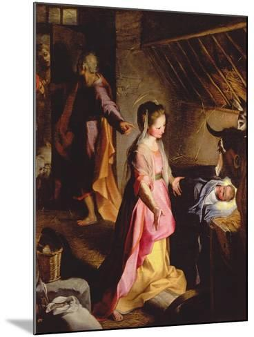 The Adoration of the Child, 1597-Federico Barocci-Mounted Giclee Print
