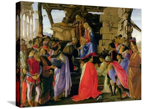 Adoration of the Magi-Sandro Botticelli-Stretched Canvas Print