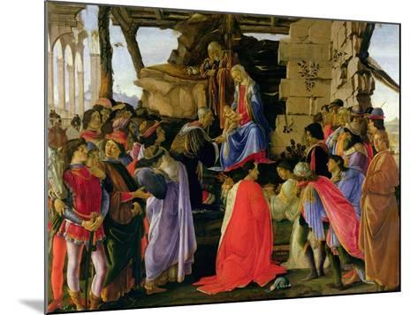 Adoration of the Magi-Sandro Botticelli-Mounted Giclee Print