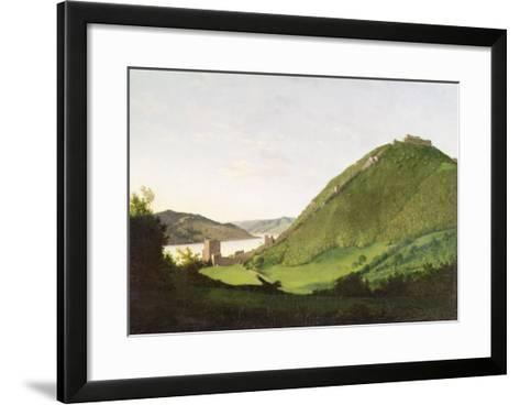 Visegrod, Hungary-Karoly I Marko-Framed Art Print
