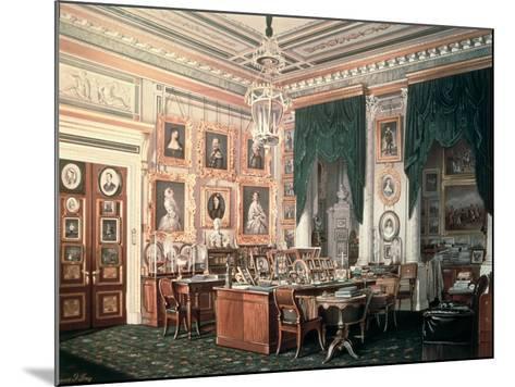 The Study of Alexander III-Eduard Hau-Mounted Giclee Print