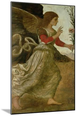 The Annunciating Angel Gabriel-Melozzo da Forl?-Mounted Giclee Print