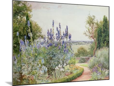 Garden Near the Thames-Alfred Parsons-Mounted Giclee Print