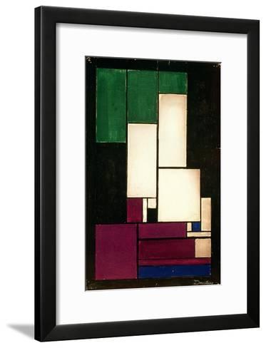 Composition, 1922-Theo Van Doesburg-Framed Art Print