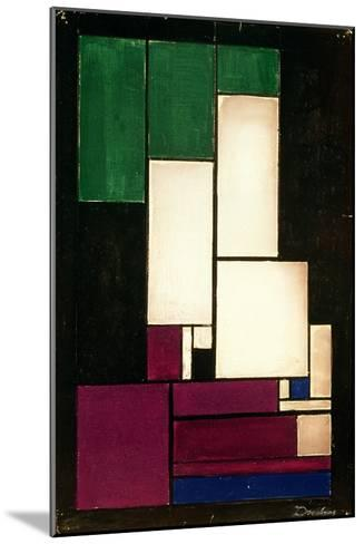 Composition, 1922-Theo Van Doesburg-Mounted Giclee Print