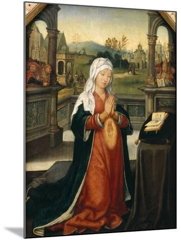 St.Anne Conceiving the Virgin-Jean The Elder Bellegambe-Mounted Giclee Print