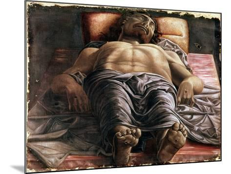 The Dead Christ-Andrea Mantegna-Mounted Giclee Print