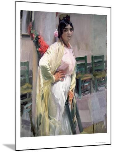 Maria, the Pretty One, 1914-Joaqu?n Sorolla y Bastida-Mounted Giclee Print