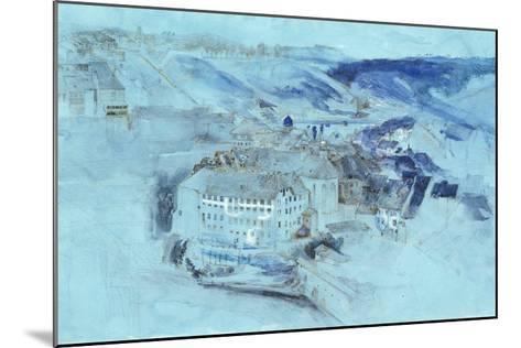 Fribourg-John Ruskin-Mounted Giclee Print