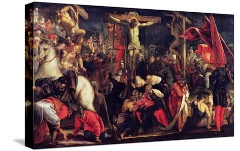 The Crucifixion-Jacopo Robusti Tintoretto-Stretched Canvas Print
