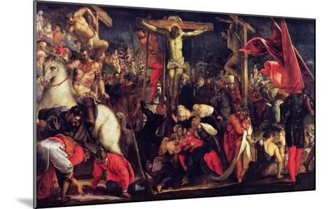 The Crucifixion-Jacopo Robusti Tintoretto-Mounted Giclee Print
