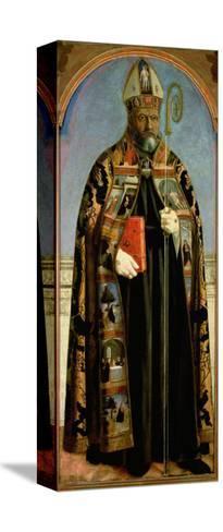 St. Augustine-Piero della Francesca-Stretched Canvas Print