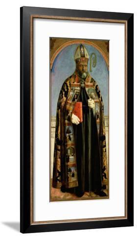 St. Augustine-Piero della Francesca-Framed Art Print