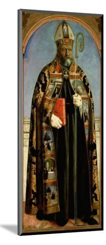 St. Augustine-Piero della Francesca-Mounted Giclee Print