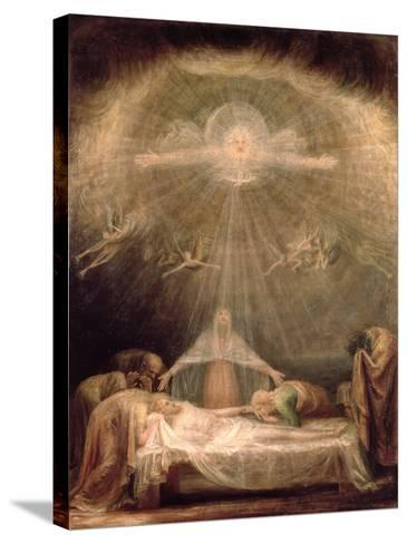 Deposition of Christ-Antonio Canova-Stretched Canvas Print