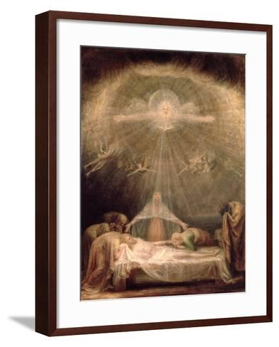 Deposition of Christ-Antonio Canova-Framed Art Print