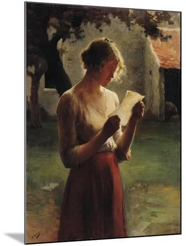 The Letter-Henri Lerolle-Mounted Giclee Print